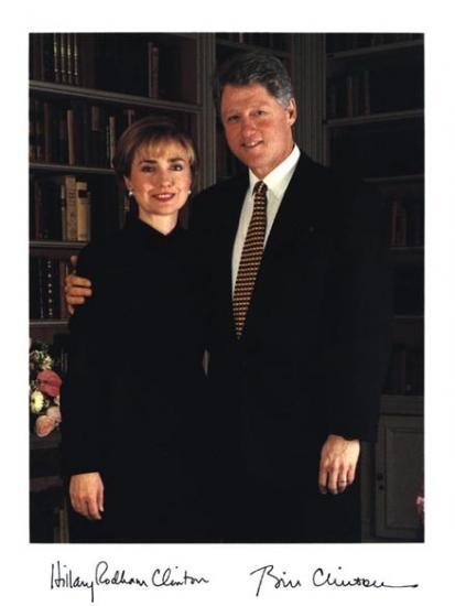 COUPLE CLINTON